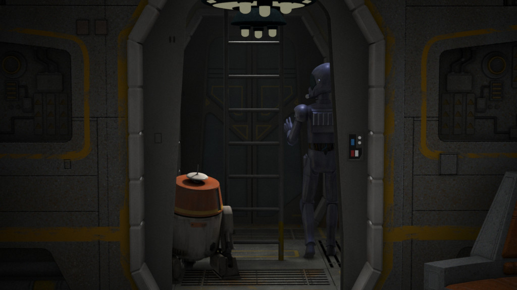 Star Wars Rebels - Chopper and AP-5
