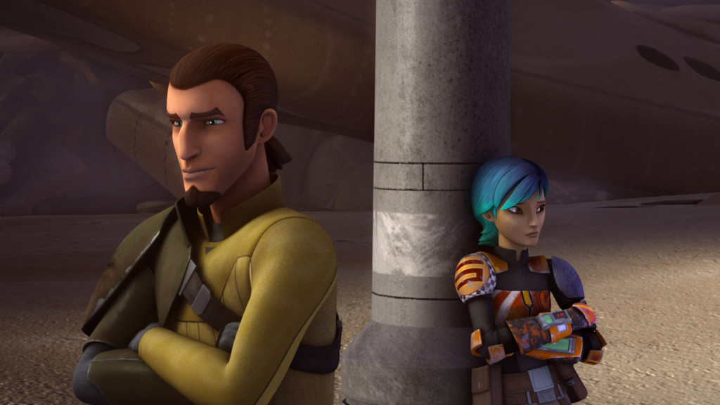 Star Wars Rebels - Kanan and Sabine