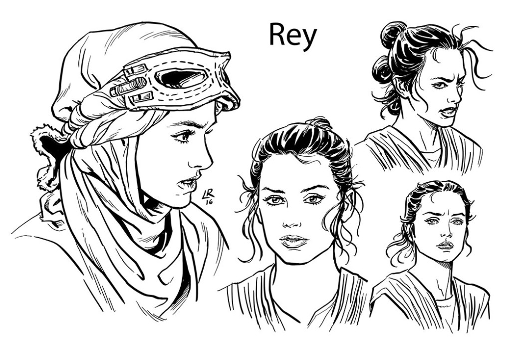 The Force Awakens #1 by Marvel - Rey