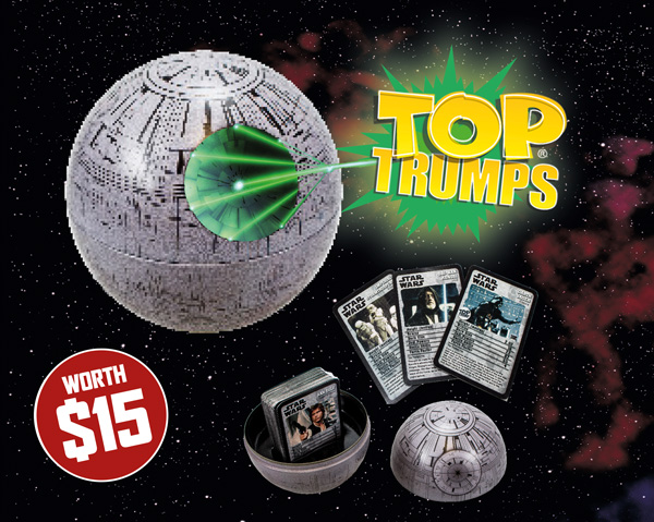 Star Wars Insider #164 - Top Trumps Ad