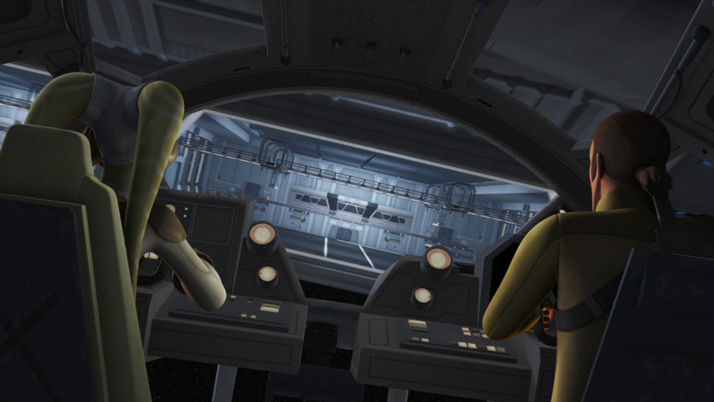 Star Wars Rebels - Hera and Kanan