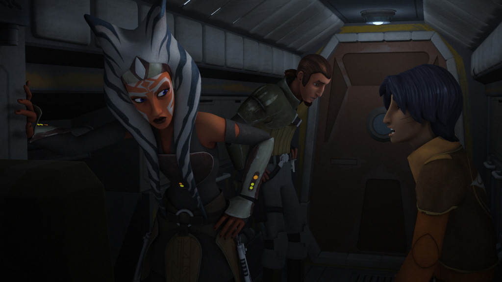 Star Wars Rebels - Ahsoka, Kanan, and Ezra