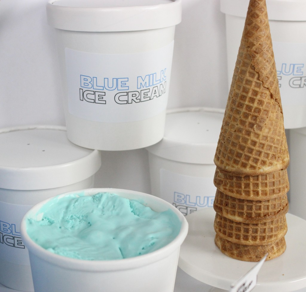 May The 4th Ice Cream Party - Blue Milk Ice Cream