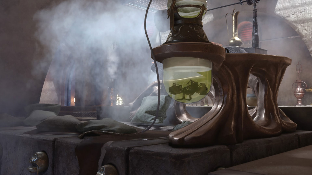 Star Wars Battlefront - Bowl of Klatooine Paddy Frogs in Jabba the Hutt's Throne Room