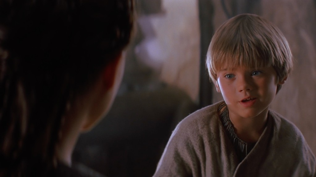 The Phantom Menace - Anakin talking to Padme