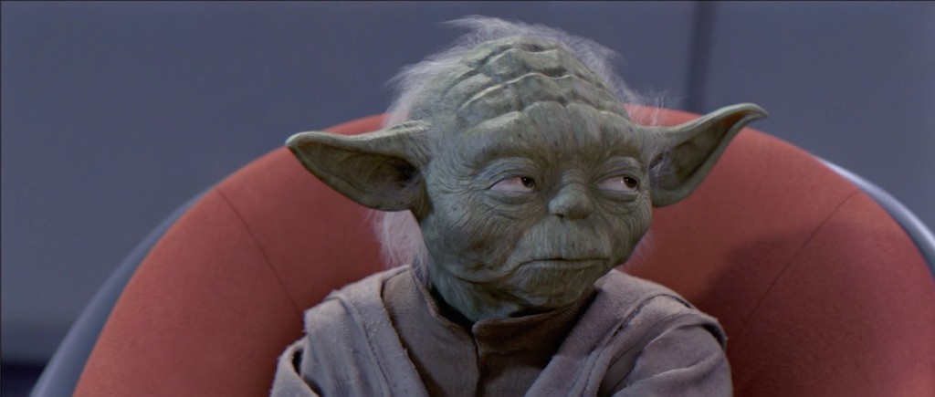 The Phantom Menace - Yoda speaking to Anakin