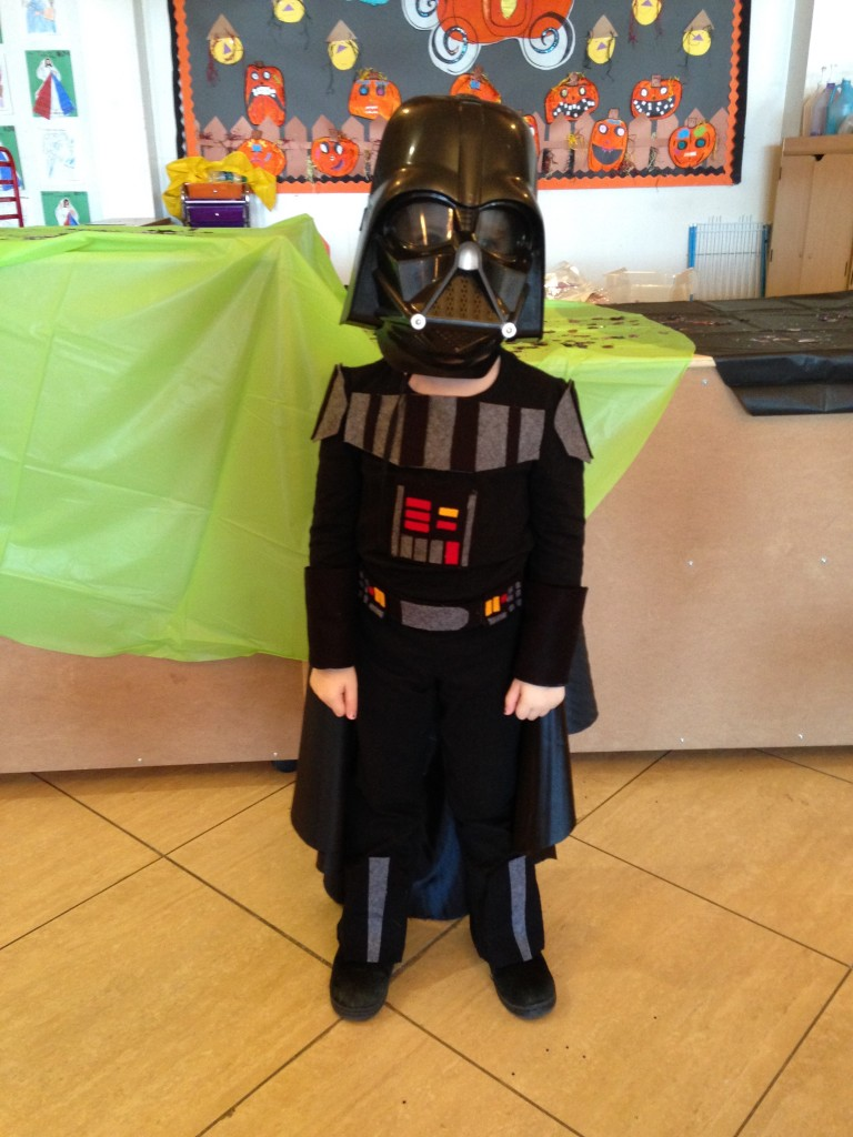 Fan dressed up as Darth Vader