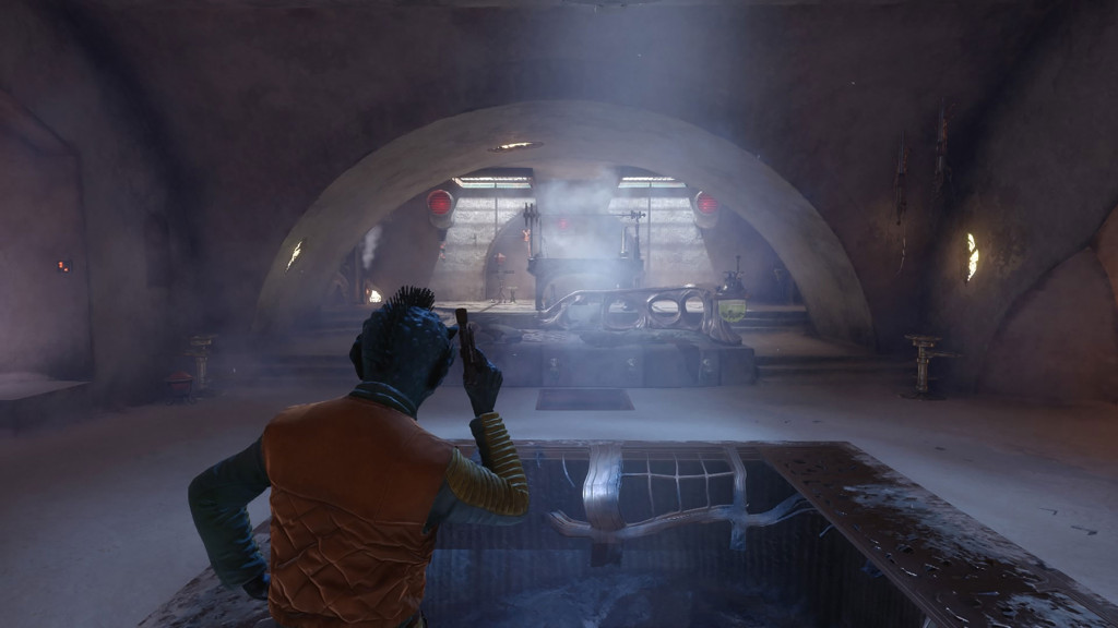 Star Wars Battlefront - Greedo in Jabba's Throne Room