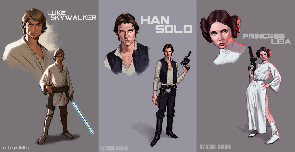 Jorge Molina Star Wars Designs