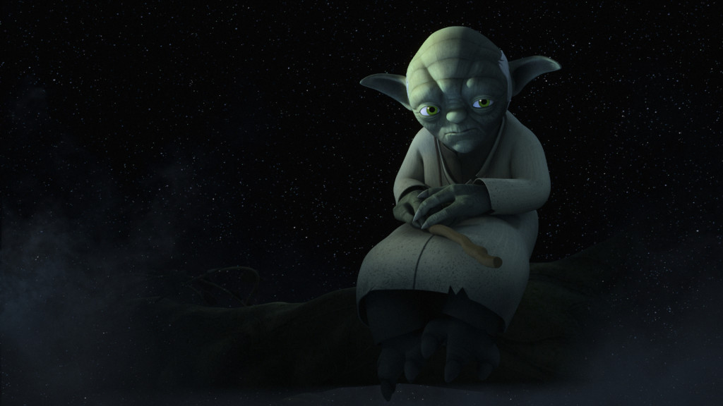 Star Wars Rebels - Yoda in the Jedi Temple on Lothal