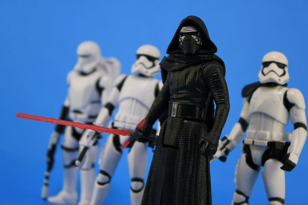 Basic Action Figures by Hasbro - Kylo Ren with Stormtroopers