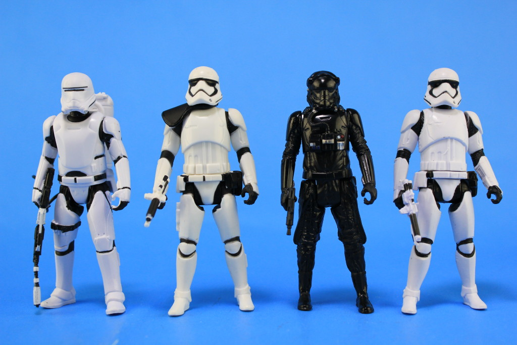 Basic Action Figures by Hasbro - Troopers