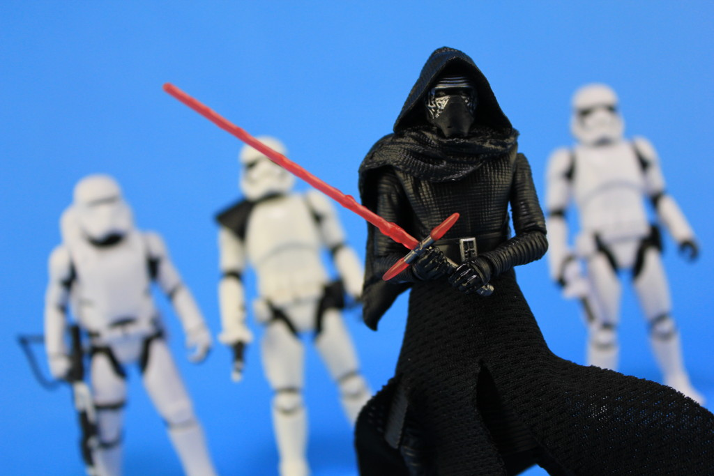 Black Series Action Figures by Hasbro - Kylo Ren with troopers