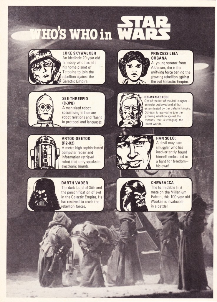 Star Wars Weekly #9 - Who's Who in Star Wars