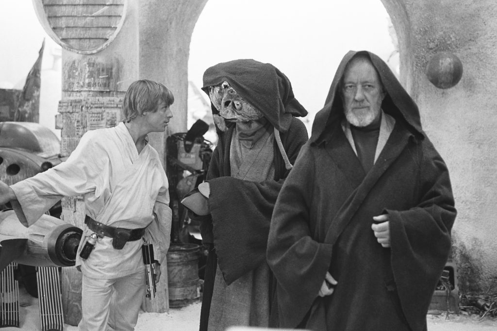A New Hope - Luke, Wioslea, and Obi-Wan
