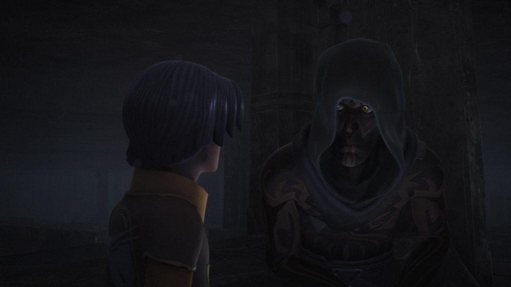 Star Wars Rebels - Darth Maul with Ezra