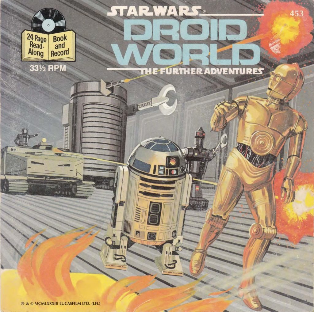 Droid World from a story by Archie Goodwin