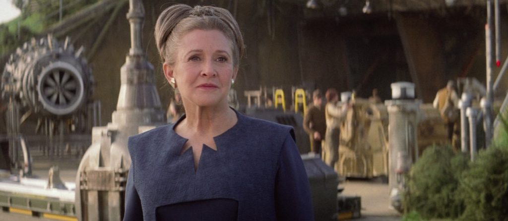 The Force Awakens - Leia Organa on D'Qar