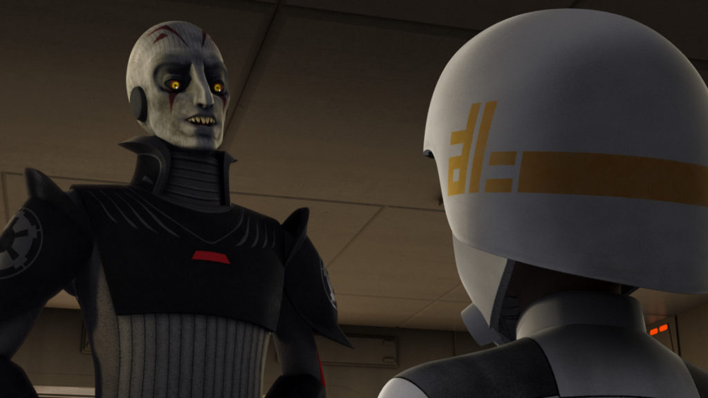 Star Wars Rebels - The Inquisitor and