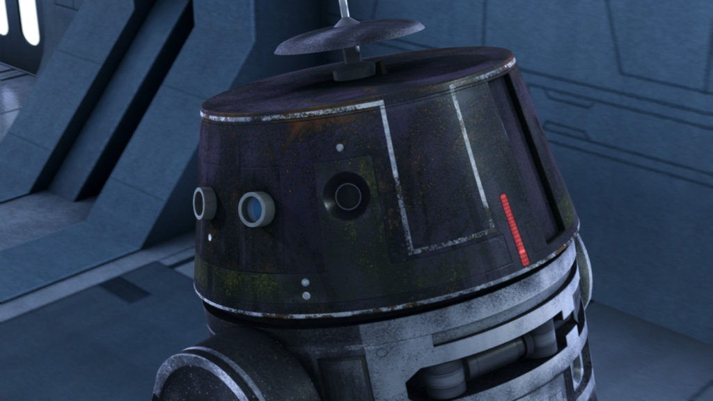 Star Wars Rebels - Droid at the Imperial Academy