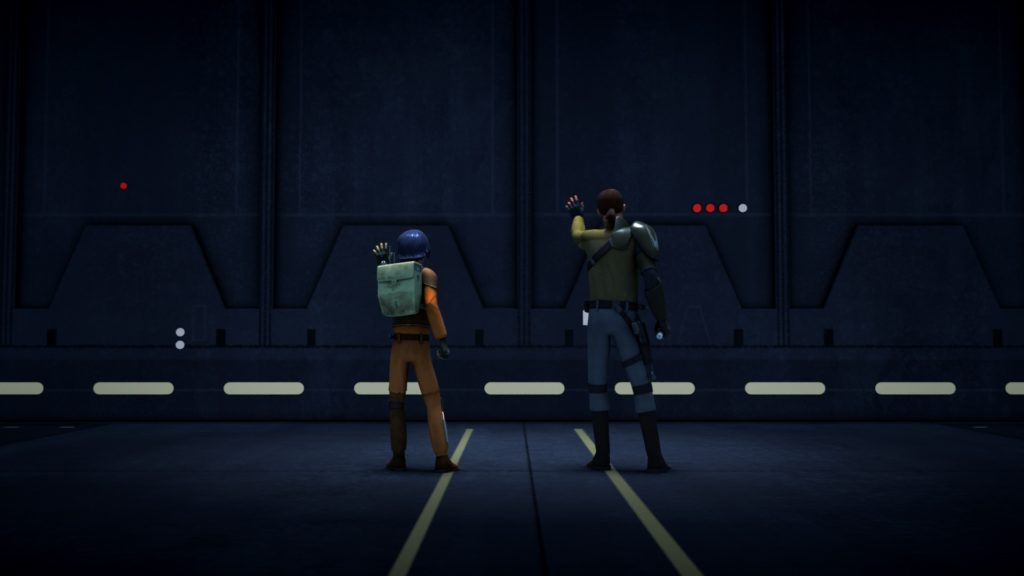 Star Wars Rebels - Kanan and Ezra working together