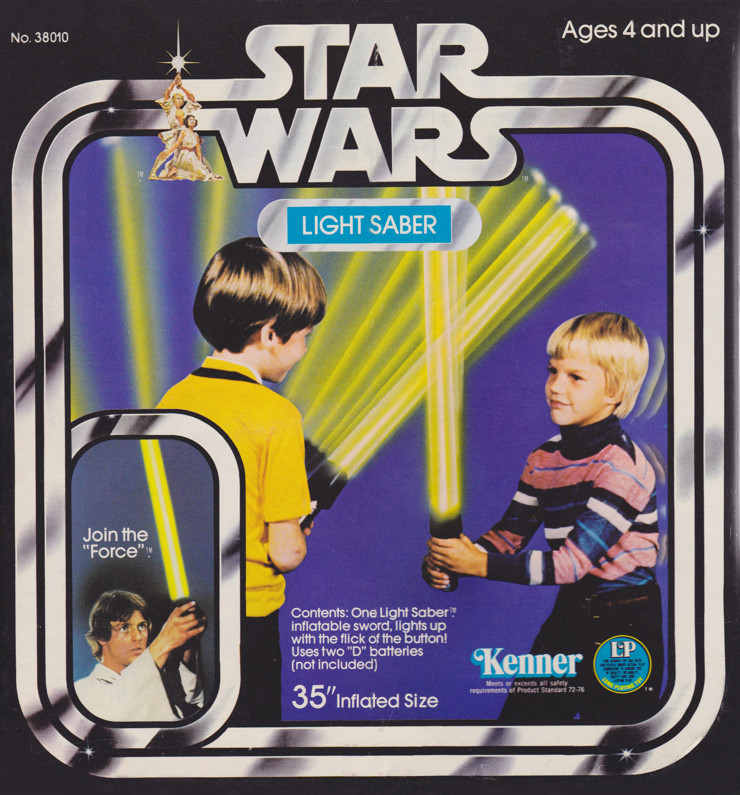 Playing Jedi The History of Toy Lightsabers StarWarscom