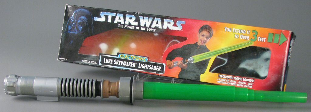 POTF lightsaber toy