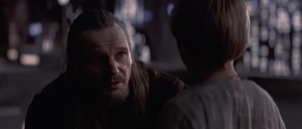 The Phantom Menace - Qui-Gon with Anakin