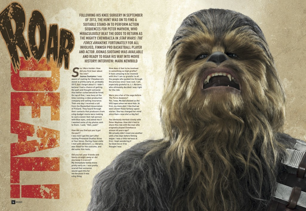 Star Wars Insider 165 - Chewbacca Interview