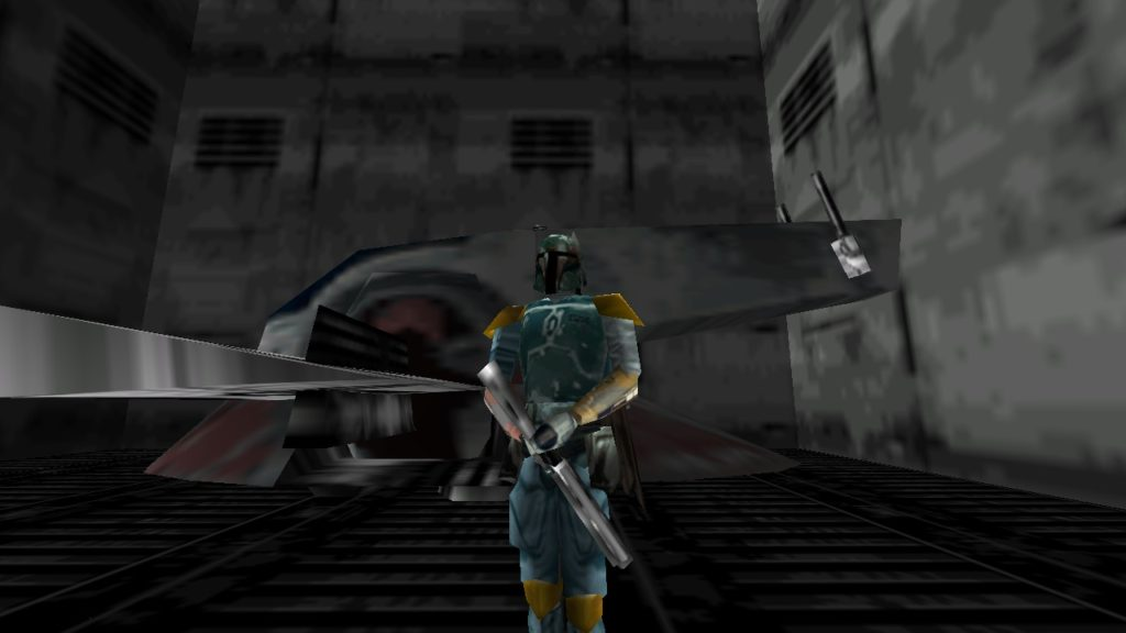 Shadows of the Empire - Boba Fett with the Slave I