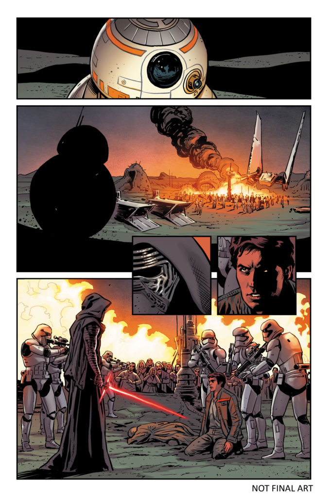 Star Wars: The Force Awakens comic