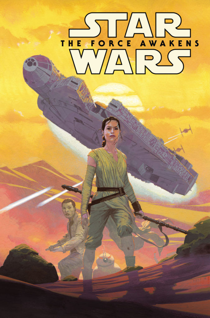Star Wars: The Force Awakens comic cover