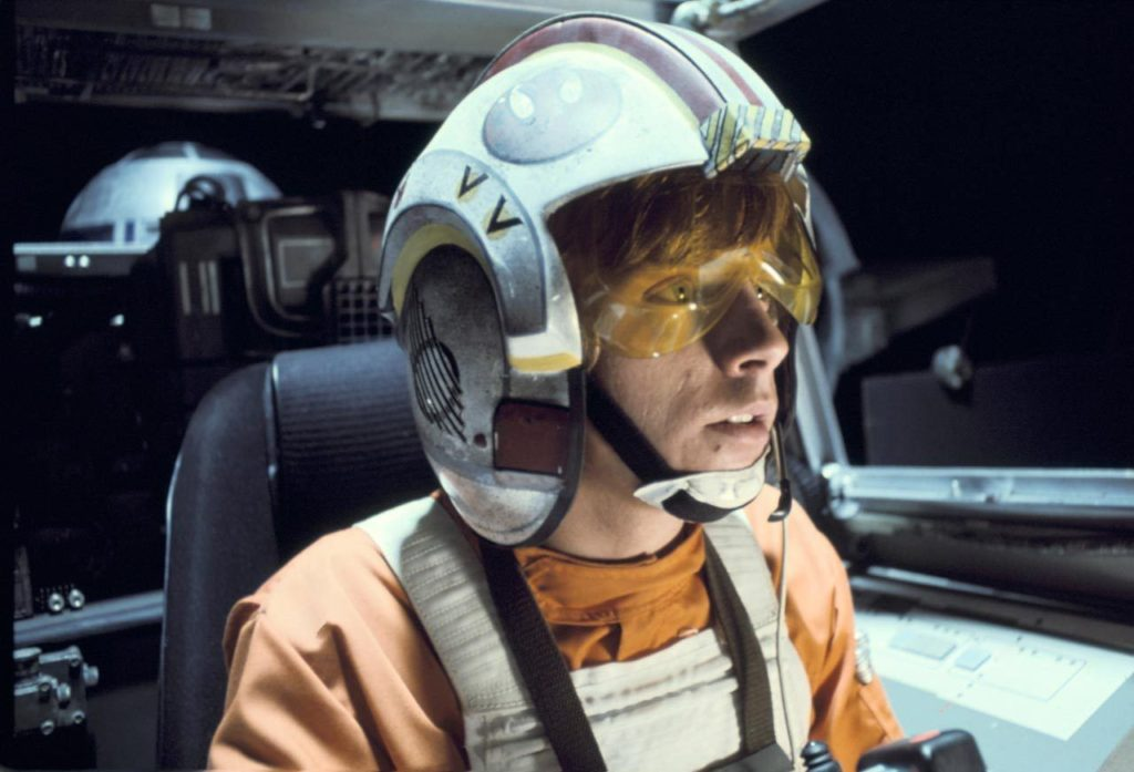 A New Hope - Luke Skywalker in his X-Wing