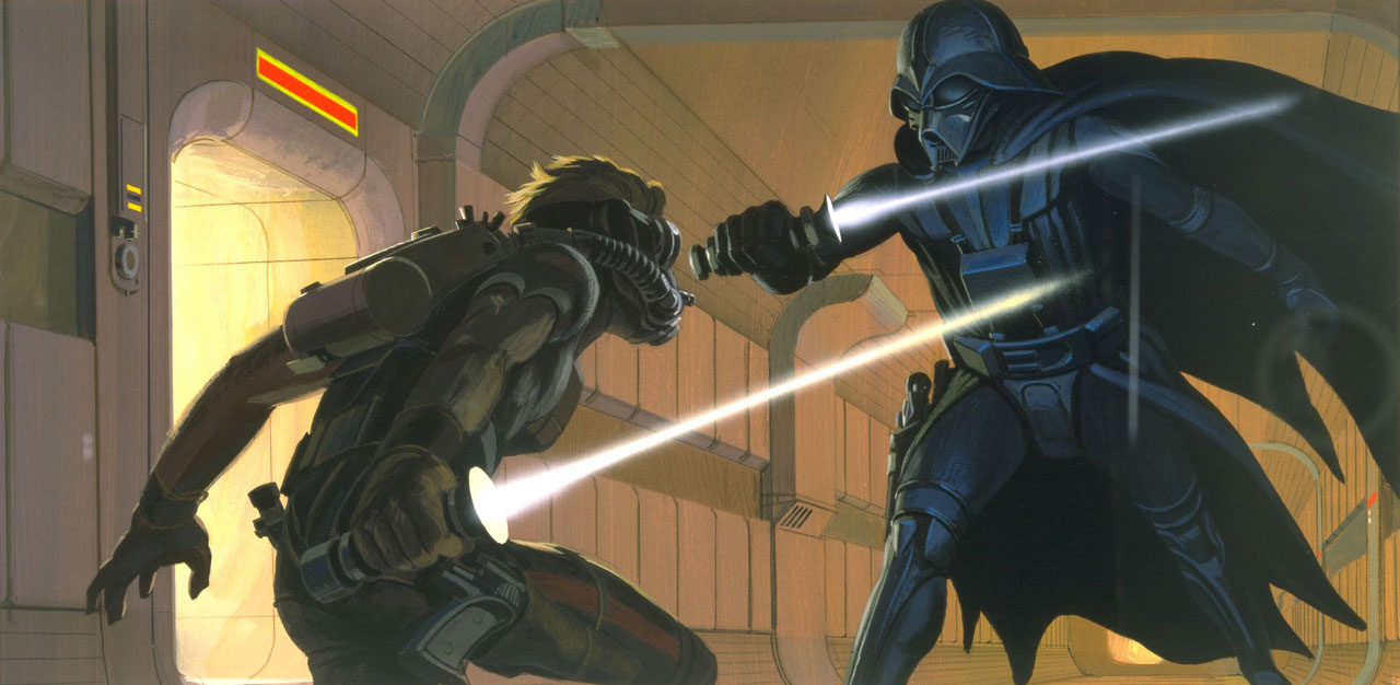 Star Wars: A New Hope - Ralph McQuarrie concept art