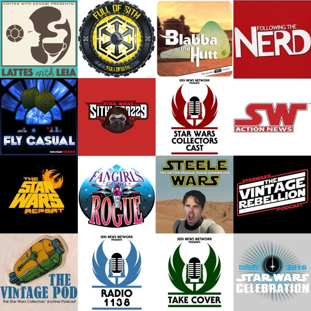 Star Wars Celebration Europe Podcast Stage Collage