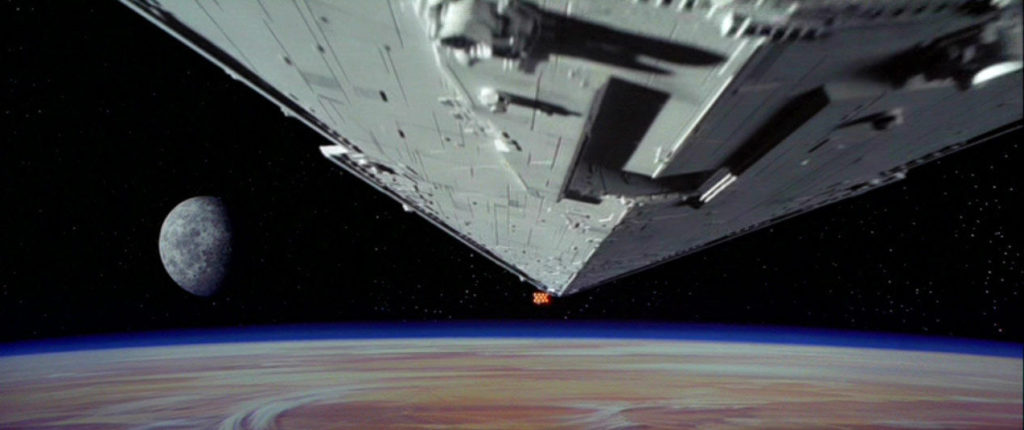 Star Wars: A New Hope - Star Destroyer