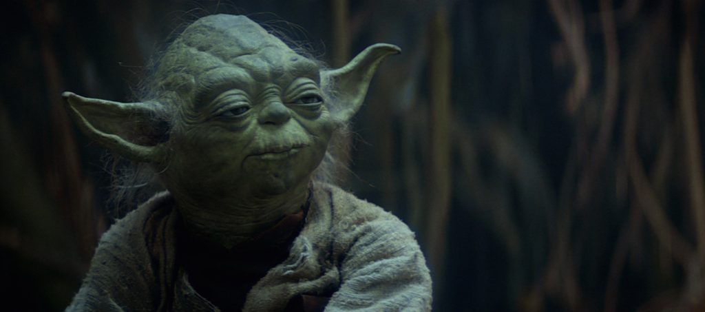 The Empire Strikes Back - Yoda during Luke's Jedi Training