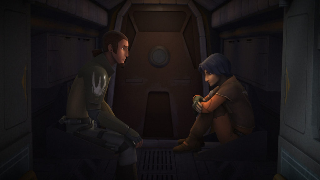 Star Wars Rebels - Kanan talks to Ezra