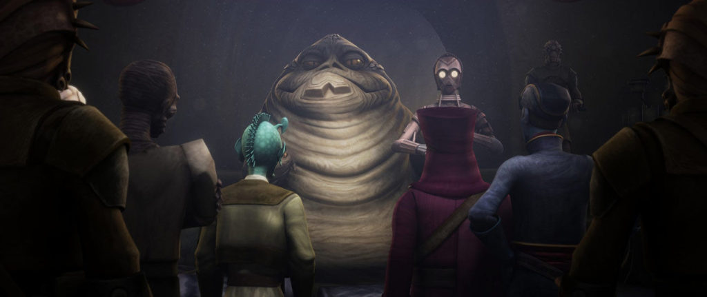The Clone Wars - Jabba and Papanoida