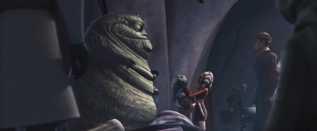 The Clone Wars - Jabba and Rotta