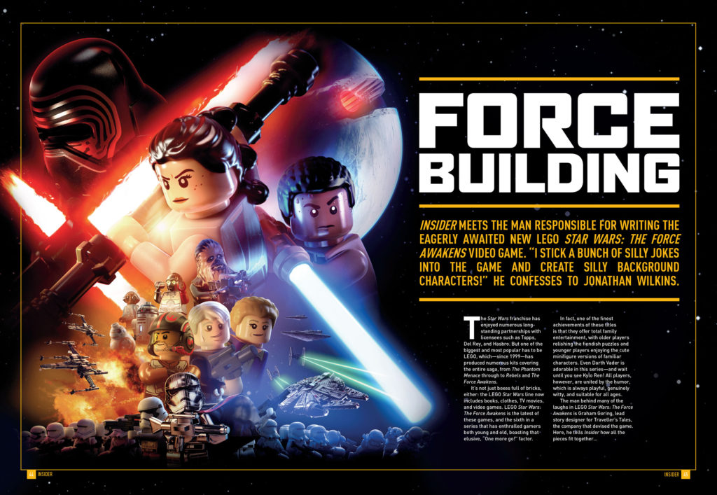 Star Wars Insider 166 - LEGO Star Wars: The Force Awakens