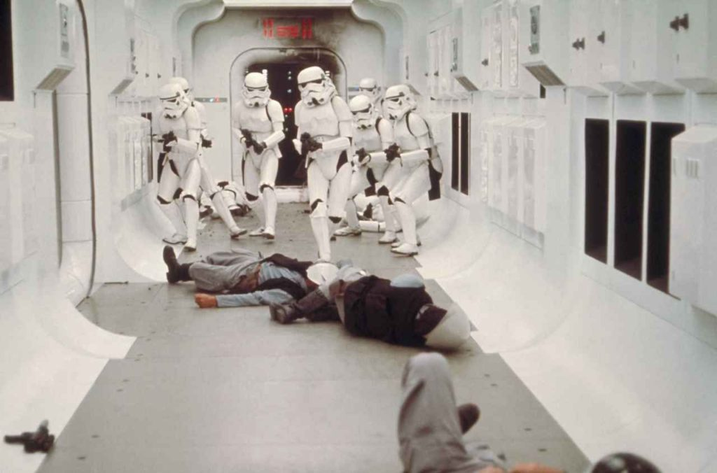 A New Hope - stormtroopers