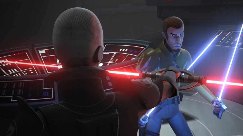 Star Wars Rebels - Kanan vs. The Inquisitor