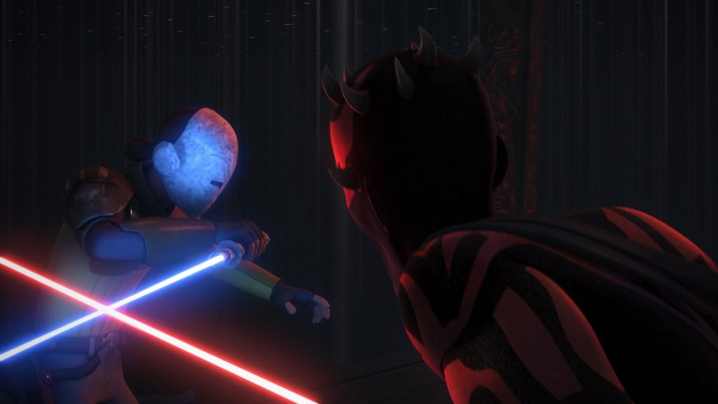 Star Wars Rebels - Kanan vs. Maul