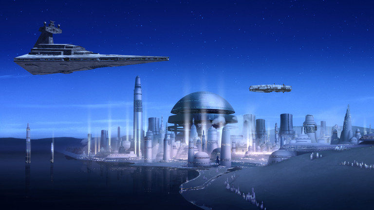 Star Wars Rebels - Lothal Capital City