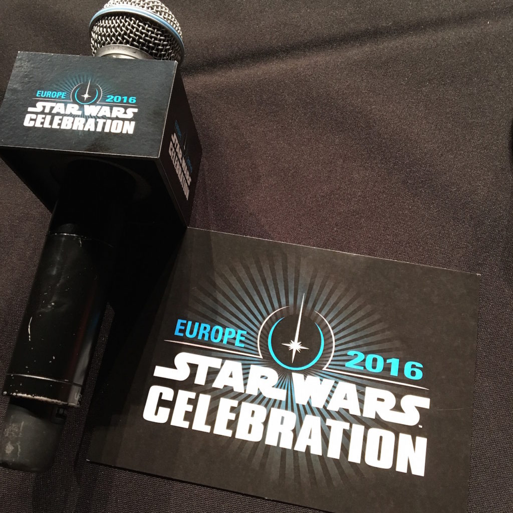 SWCE mic and notecards
