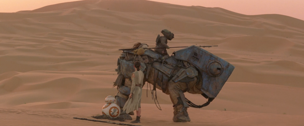 The Force Awakens - luggabeast