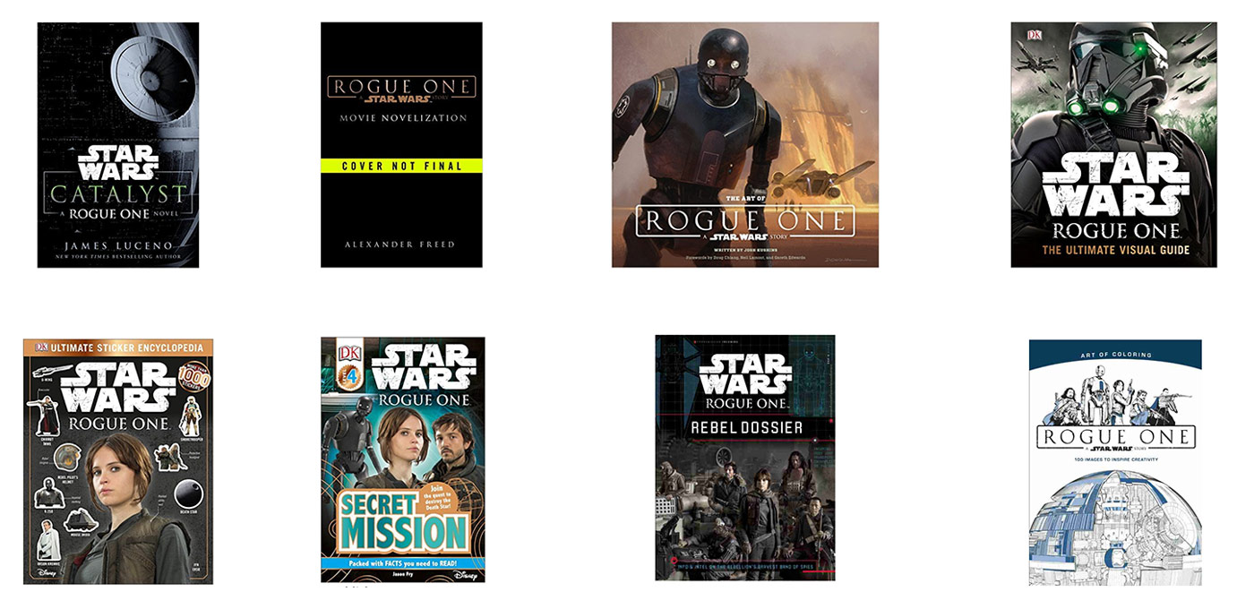 Go Rogue Pre-order: Lucasfilm Publishing Lineup