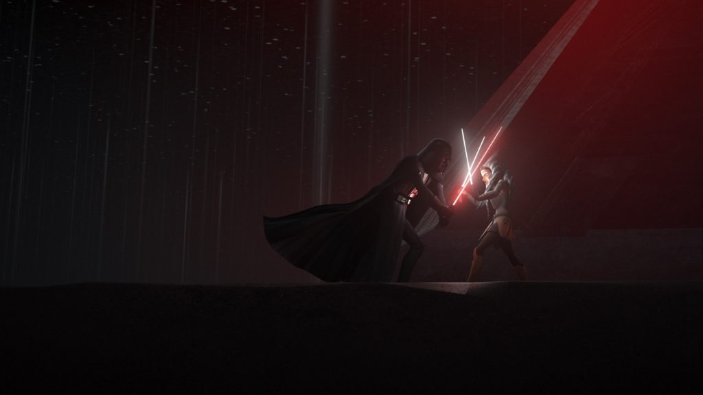 Star Wars Rebels - Ahsoka vs. Darth Vader