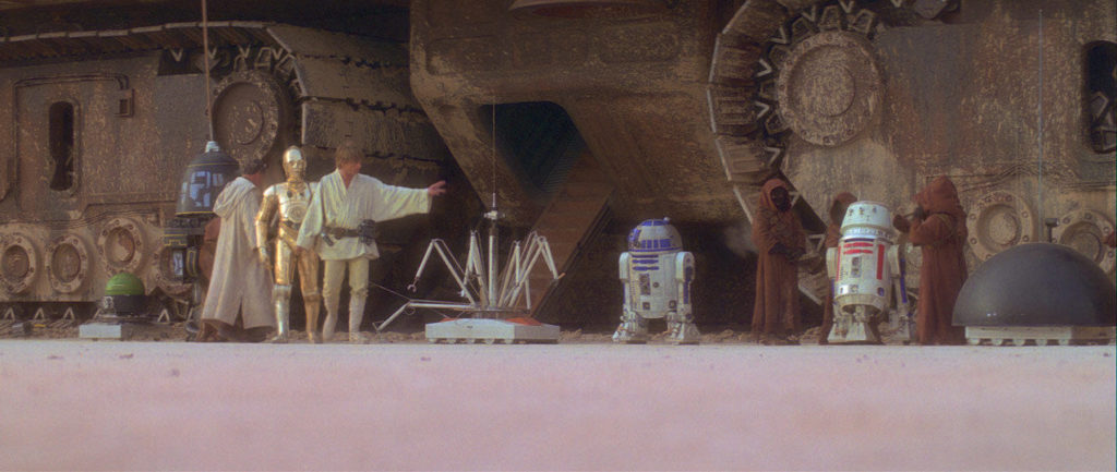Star Wars: A New Hope - droids